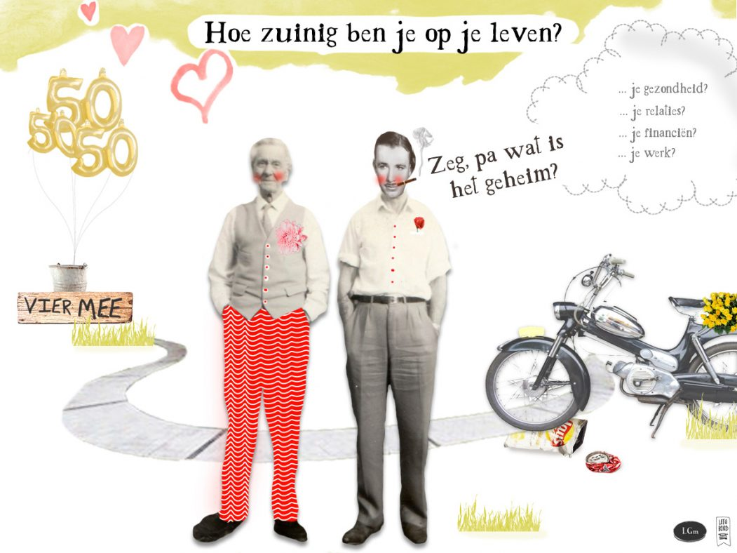 Collage-art illustratie